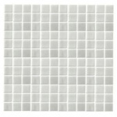 EPOCH Monoz M-Pearlecent-1405 Mosiac Recycled Glass Mesh Mounted Floor & Wall Tile - 4 in. x 4 in. Tile Sample