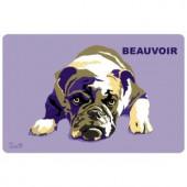 Bungalow Flooring Printed Bulldog 40 17.5 in. x 26.5 in. Mat