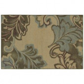 Mohawk Autumn Leaf Tan 2 ft. 6 in. x 3 ft. 10 in. Accent Rug