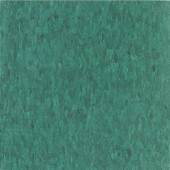 Armstrong Imperial Texture VCT 12 in. x 12 in. Sea Standard Excelon Green Vinyl Tile (45 sq. ft. / case)