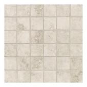 Daltile Salerno Grigio Perla 12 in. x 24 in. x 6 mm Ceramic Mosaic Floor and Wall Tile (24 sq. ft. / case)