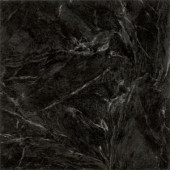 Armstrong Stylistik II 12 in. x 12 in. Peel and Stick Classic Marble Black Vinyl Tile (45 sq. ft./Case)
