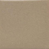 Daltile Semi-Gloss Elemental Tan 4-1/4 in. x 4-1/4 in. Ceramic Bullnose Wall Tile