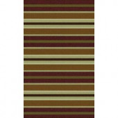TrafficMASTER Discovery Bordeaux Multi 1 ft. 6 in. x 4 ft. Accent Rug