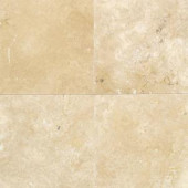 Daltile Travertine Durango 12 in. x 12 in. Natural Stone Floor and Wall Tile (10 sq. ft. / case)