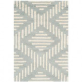 Safavieh Chatham Grey/Ivory 2 ft. x 3 ft. Area Rug