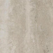 TrafficMASTER Grey Travertine Resilient Vinyl Tile Flooring - 4 in. x 4 in. Take Home Sample
