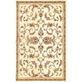 Natco Annora Ivory 22 in. x 36 in. Accent Rug