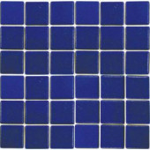 EPOCH Oceanz Pacific-1702 Mosiac Recycled Glass Anti Slip Mesh Mounted Floor & Wall Tile - 4 in. x 4 in. Tile Sample