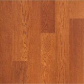 Hampton Bay Brasstown Oak 8mm Thick x 8-1/8 in Wide. x 47-5/8 in. Length Laminate Flooring (21.36 sq. ft. / case)