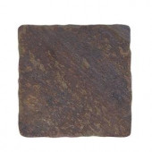 Jeffrey Court Indian Slate 4 in. x 4 in. Floor/Wall Tile (9pieces/1 sq. ft./1pack)