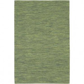 Chandra India Green 2 ft. x 3 ft. Indoor Area Rug