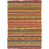 Chandra Saket Multi 2 ft. x 3 ft. Indoor Area Rug