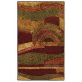 Mohawk Picasso Wine 1 ft. 8 in. x 2 ft. 10 in. Accent Rug