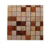 Splashback Tile Sparrow Blend Mosaic Tile - 6 in. x 6 in. Tile Sample