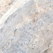 MS International Silver Travertine 12 in. x 12 in. Honed Travertine Floor & Wall Tile
