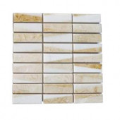 Splashback Tile Great Ulysses Marble Floor and Wall Tile - 6 in. x 6 in. Tile Sample
