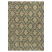 Kas Rugs Palace Row Sage/Beige 3 ft. 3 in. x 5 ft. 3 in. Area Rug