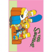 Fun Rugs The Simpsons Family Portrait Multi Colored 19 in. x 29 in. Accent Rug