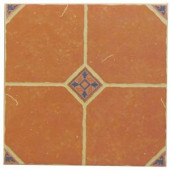 U.S. Ceramic Tile Terra Cotta 16 in. x 16 in. Ceramic Floor Tile