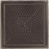Daltile Urban Metals Bronze 2 in. x 2 in. Metal Spiral Insert Trim Wall Tile
