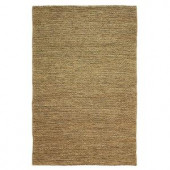 Home Decorators Collection Chainstitch Dark Natural 8 ft. x 11 ft. Area Rug