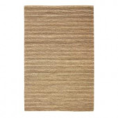 Home Decorators Collection Banded Jute Natural 3 ft. x 5 ft. Area Rug