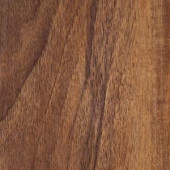 Hampton Bay Hand Scraped Walnut Plateau 8mm Thick x 5-9/16 in. Wide x 47-3/4 in. Length Laminate Flooring (18.45 sq. ft./case)