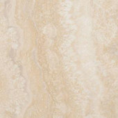 TrafficMASTER Allure Ultra Aegean Travertine Natural Resilient Vinyl Flooring - 4 in. x 7 in. Take Home Sample