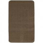 TrafficMASTER Capri Chocolate 1 ft. 6 in. x 4 ft. Scatter Rug