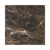 Jeffrey Court Emperador 6 in. x 6 in. Honed Marble Wall & Floor Tile (4 pieces/1 sq. ft./1 pack)