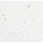 Armstrong Imperial Texture VCT 12 in. x 12 in. Polar White Standard Excelon Commercial Vinyl Tile (45 sq. ft. / case)