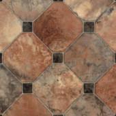 Armstrong Chestnut Corner Rust Sundial Vinyl Plank Flooring - 6 in. x 9 in. Take Home Sample