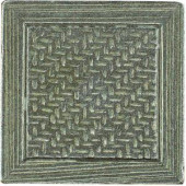 MARAZZI Montagna 2 in. x 2 in. Metal Resin Nickel Basketweave Deco Floor and Wall Tile