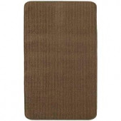 TrafficMASTER Capri Chocolate 2 ft. x 5 ft. Scatter Rug