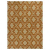 Kas Rugs Palace Row Rust/Beige 3 ft. 3 in. x 5 ft. 3 in. Area Rug
