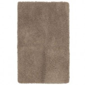Shaw Living Symphony II Oyster 17 in. x 24 in. Scatter Rug