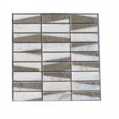 Splashback Tile Great Charlemagne Marble Floor and Wall Tile - 6 in. x 6 in. Tile Sample