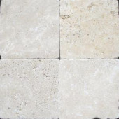 MS International 6 In. x 6 In. Tumbled Chiaro Travertine Floor & Wall Tile