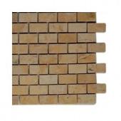 Splashback Tile Jer Gold Bricks Natural Stone Floor and Wall Tile - 6 in. x 6 in. Tile Sample