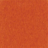Armstrong Imperial Texture VCT 12 in.x 12 in. Pumpkin Orange Standard Excelon Commercial Vinyl Tile(45 sq ft/case)