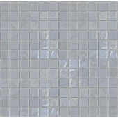 EPOCH Gemstonez Chalcedony-1301 Mosiac Recycled Glass Mesh Mounted Floor & Wall Tile - 4 in. x 4 in. Tile Sample