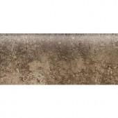 Daltile Santa Barbara Pacific Sand 2 in. x 6 in. Bullnose Wall Tile