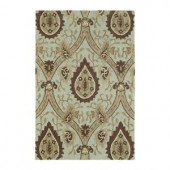 Kaleen Crowne Oberon Spa 2 ft. x 3 ft. Area Rug