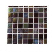 Splashback Tile Rainbow Fish Glass - 6 in. x 6 in. Tile Sample