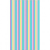 LA Rug Inc. Fun Time Pastel Delicate Multi Colored 19 in. x 29 in. Area Rug