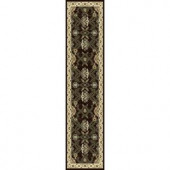 Home Dynamix Sapphire Brown 1 ft. 9 in. x 7 ft. 2 in. Area Rug