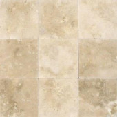 MS International 4 in. x 4 in. Ivory Travertine Floor and Wall Tile (1 sq. ft./case)