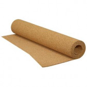 QEP 200 sq. ft. 1/8 in. Cork Underlayment Roll