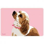 Bungalow Flooring Printed Cocker Spaniel 37 17.5 in. x 26.5 in. Mat